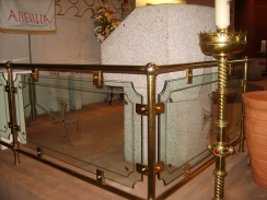 Brass Alter Rails