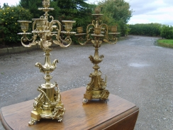 Restoration of Brass Candlesticks